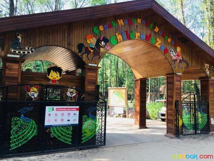 Ormanya Çocuk Hayvanat Bahçesi Giriş Kapısı