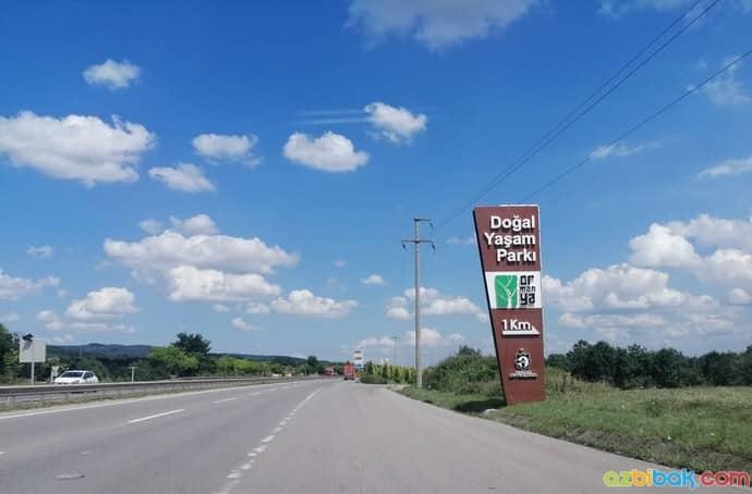 Ormanya D100 Karayolu Giriş Noktası