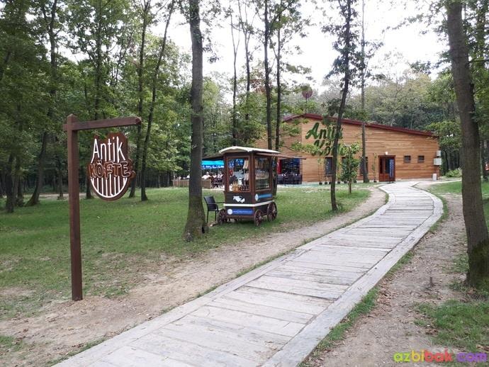 Ormanya Antik Köfte Restoran ve Giriş Yolu